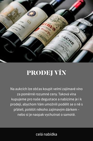 Prodej vín